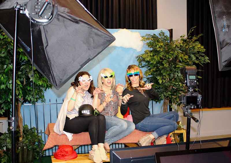 Photo Booth for Corporate Picnic