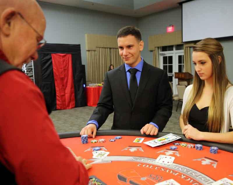 casino night event rentals