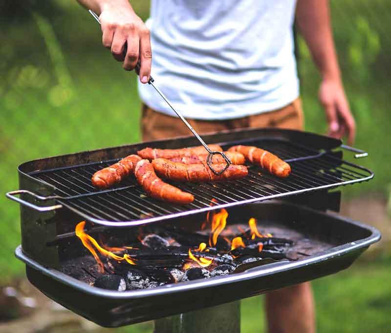 spring fling event grilling